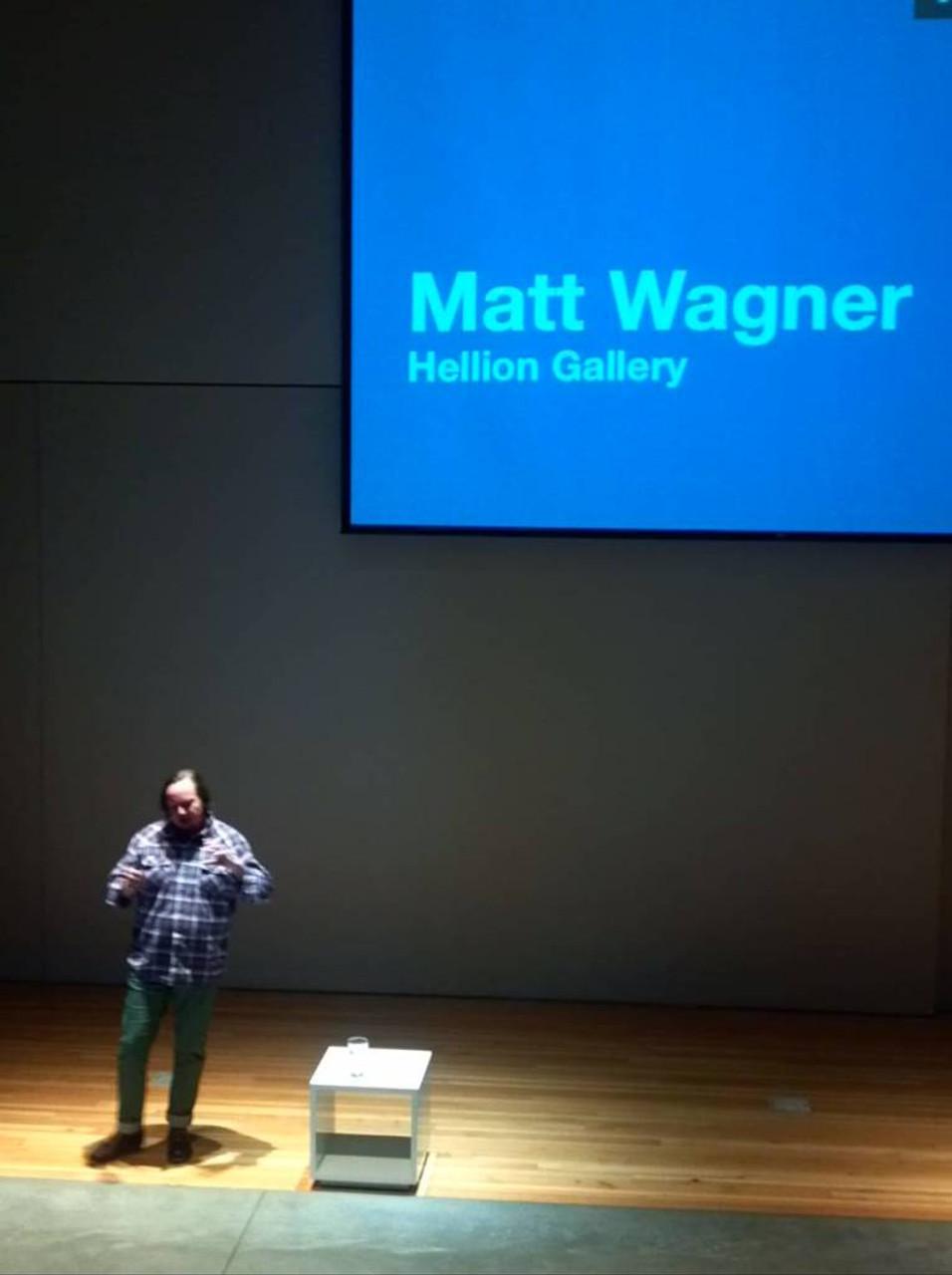 Spent Friday morning at Creative Mornings, where Matt Wagner