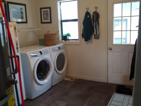 Before + After: Updating the Laundry Room