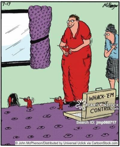 Whack 'em pest control