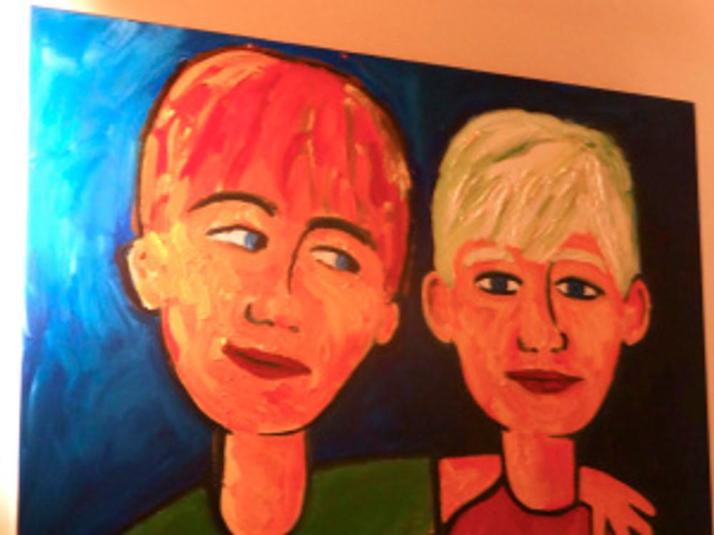 diggin' the art in my studio...