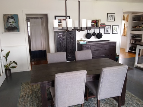 Before + After: Reimagining & Remodeling our Kitchen, Dining Room and Home Office