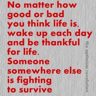 Thanksgiving Words of Wisdom...