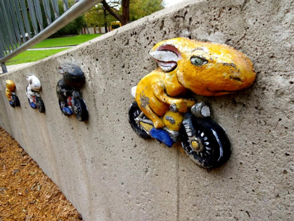 Awesome playground art!
