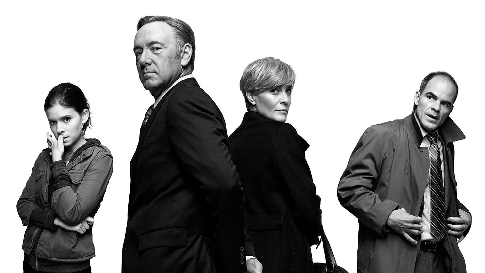 And oh my, made the mistake of starting to watch House of Cards, which then of course destroyed hours upon hours of the weekend (as of course it became a marathon). Dang that's an addictive show!!