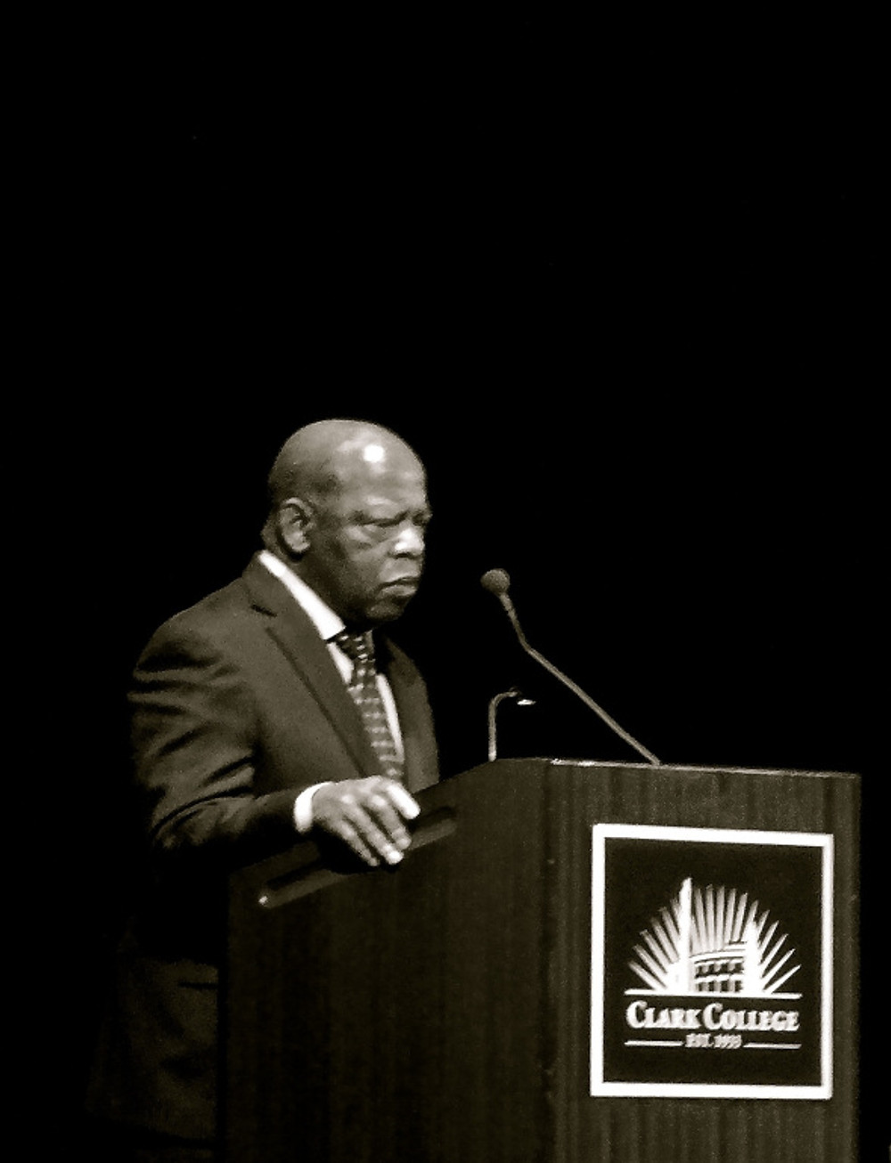 The ultimate surprise was special guest Congressman John Lewis, a legend in the civil rights movement, close friend to Dr. King and a man still . He