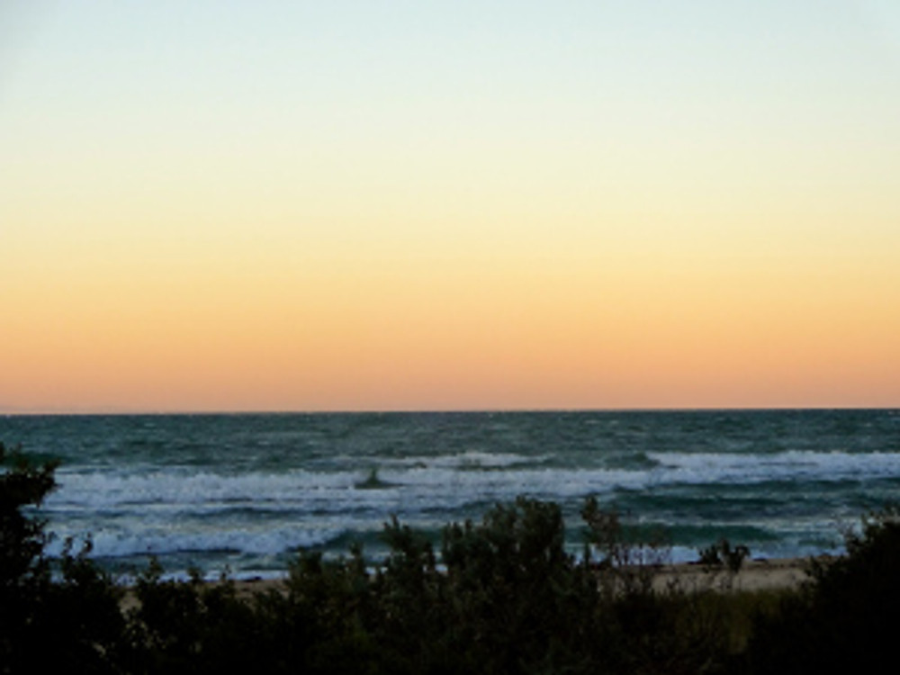 watchin' the sunset in indented head together was lovely...