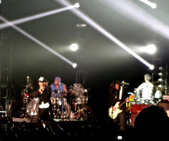 The day ended with a performance by the Red Hot Chili Peppers.