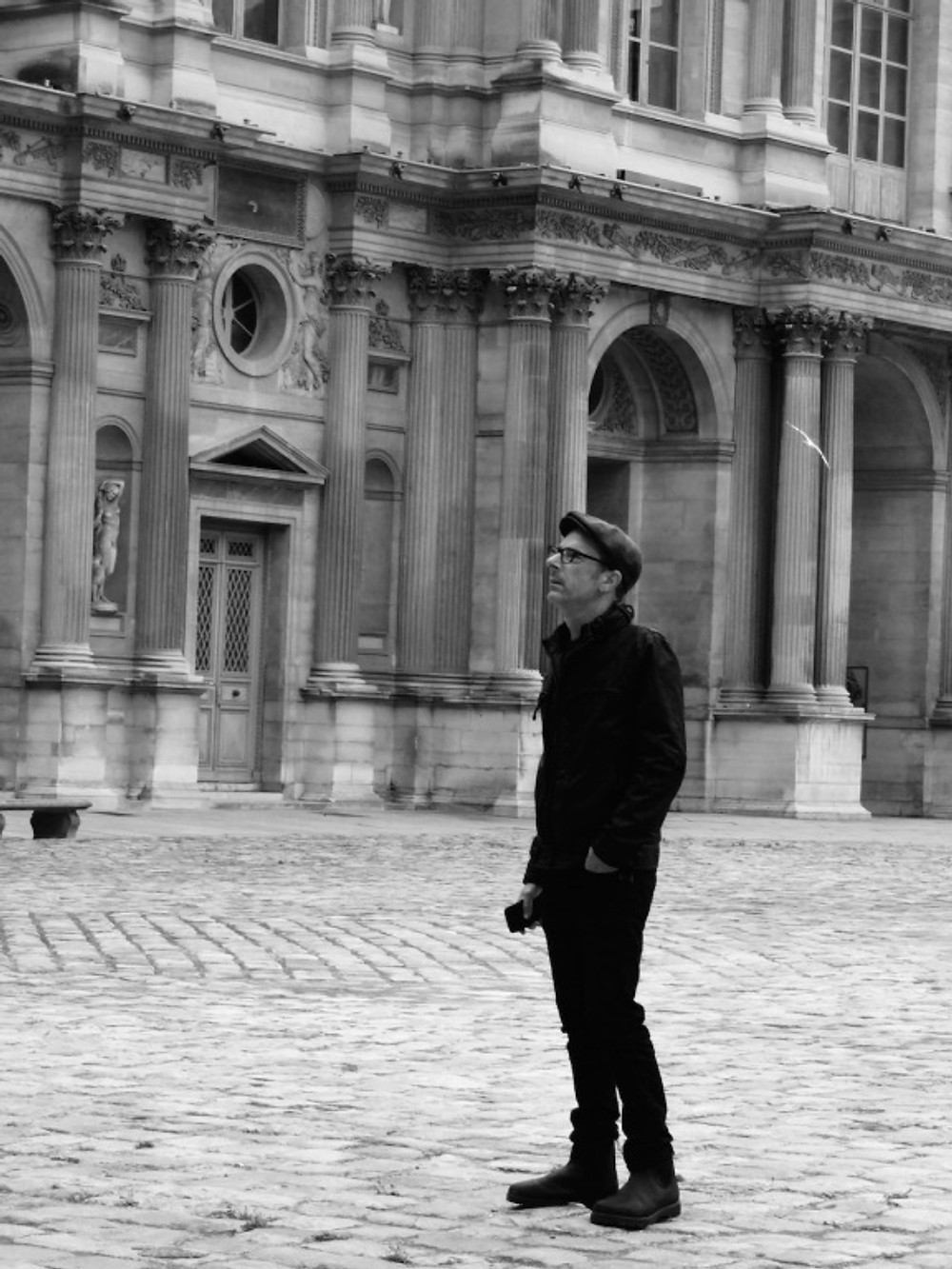 Seeing Dan's amazement walking in the courtyard at the Louvre was wonderful.