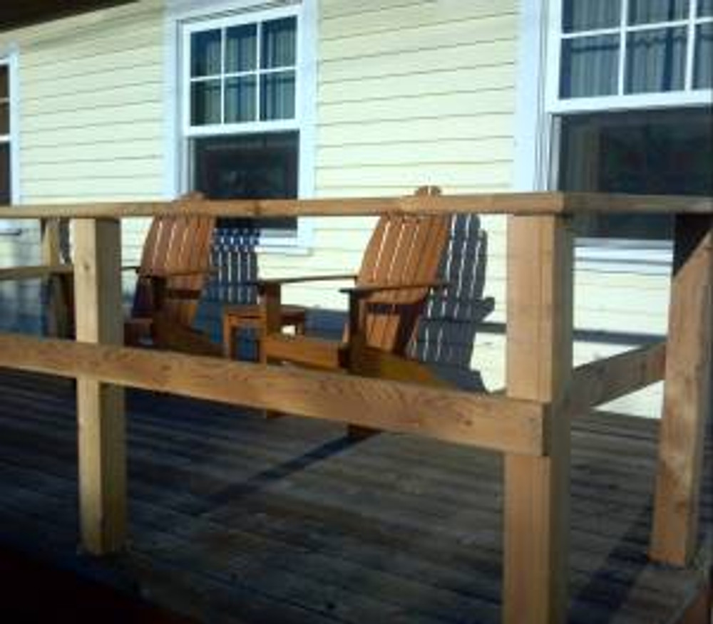 my new adirondack chairs - heaven