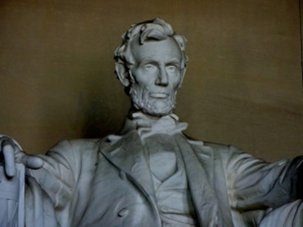 This is of course why you come to Washington, D.C., in my humble opinion. Third time I've stood at the foot of Lincoln and I still catch my breath.