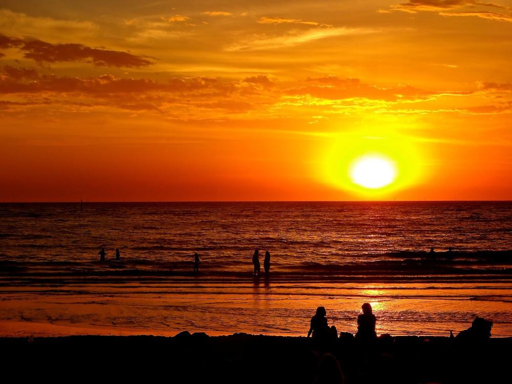 Sunset at Port Phillip Bay