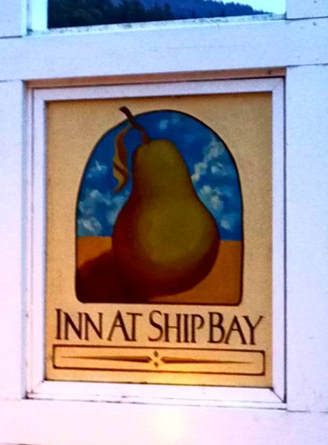 One of the best meals of our honeymoon was had at the Inn at Ship Bay, with a serious focus on farm-to-table eatin'. It was recommended to us by a couple we met on a walk who had been married 45 years :)