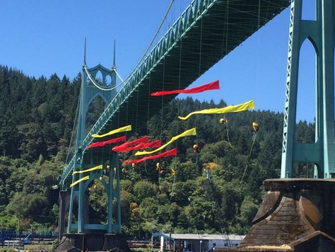 Civil Disobedience in Action – #ShellNo in Portland