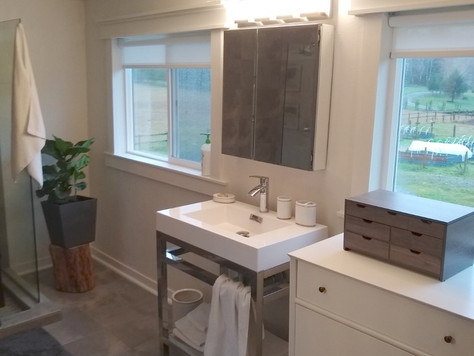 Before + After: Building a Master Bathroom from Scratch!