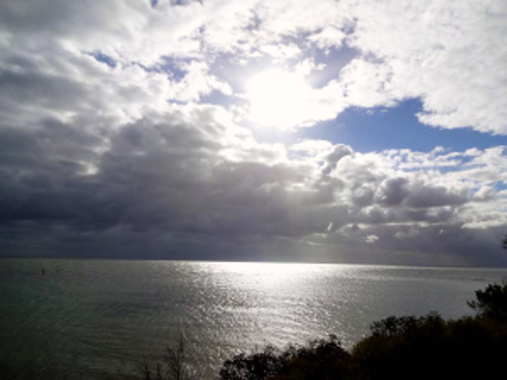 morning walk along the bay