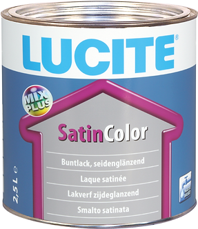 LUCITE® SatinColor weiss 2,5 Liter