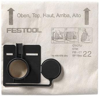Festool Filtersack FIS-CT 22 SP VLIES/5