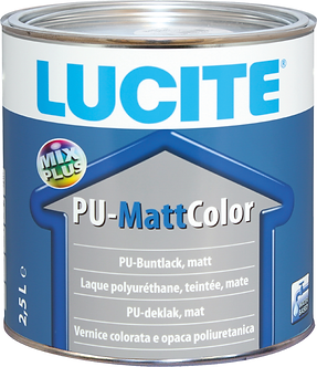 LUCITE® PU-Matt Color weiss