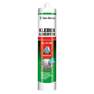 Den Braven All-In-One Clearflex - transparent 290 ml