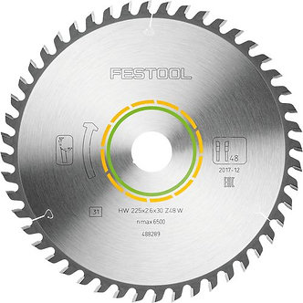 Festool Feinzahn-Sägeblatt 225x2,6x30 W48