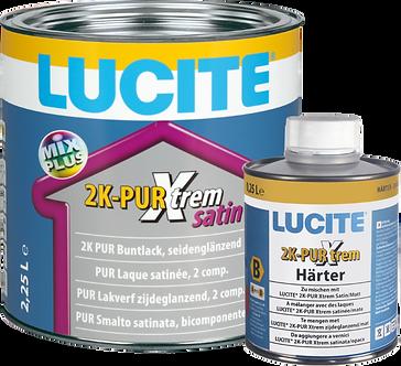 LUCITE® 2K-PUR Xtrem Satin weiss