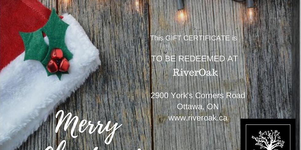 RiverOak Gift Certificate