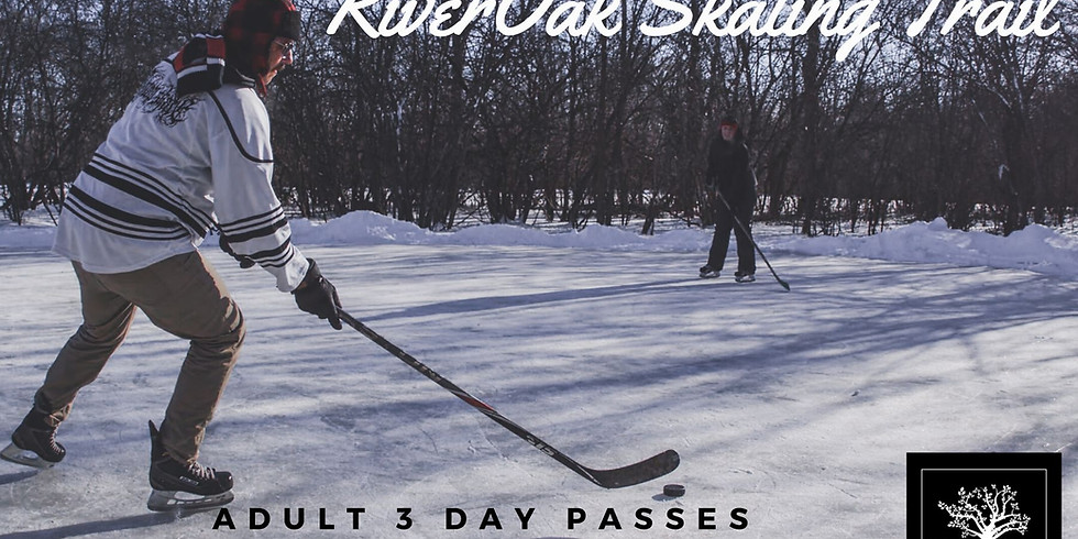 Adult 3 Day Passes $30+HST