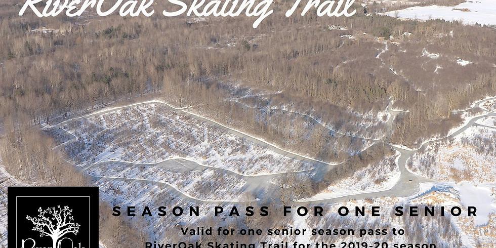 Senior Season Pass $35+HST