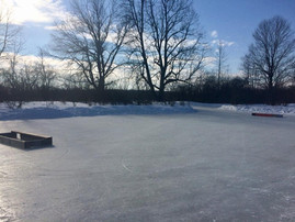 3 on 3 rink at RiverOak