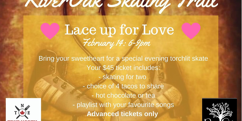 Lace up for Love ($45+HST for 2 people)