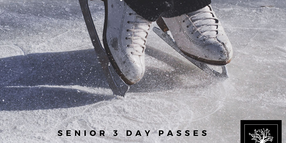 Senior 3 Day Passes $20+HST