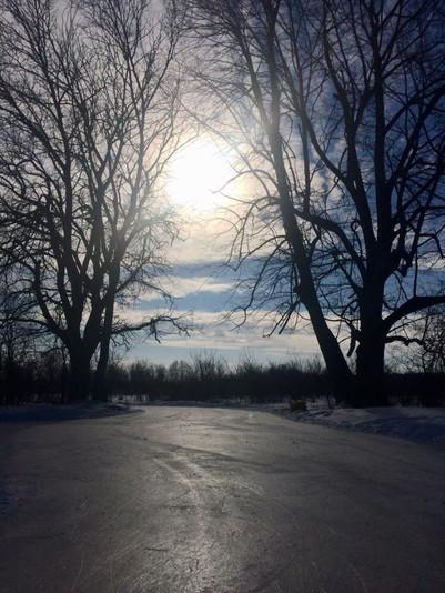 Sun shining day at RiverOak