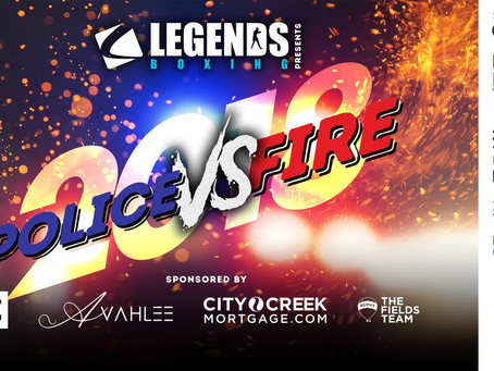 Legends Boxing Presents Police VS Fire 2018