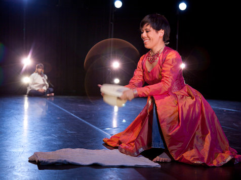 "Shymala Moorty and Cynthia Ling Lee of Post Natyam Collective in Their ""Rapture/Rupture"""