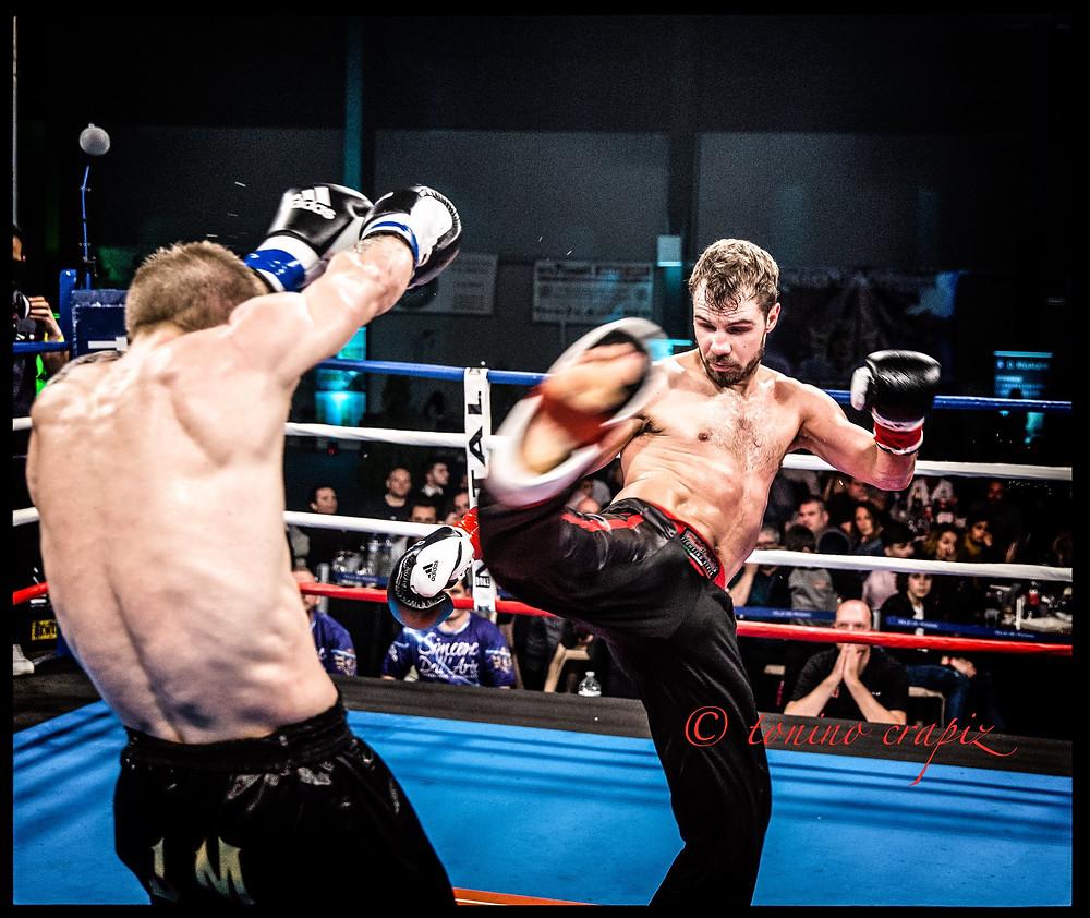 Nickolaj Christensen vs Jean Marie Pietrzak - ISKA Full Contact World Title Fight