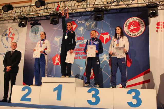 Cathrine Heggøy Fonnes Verdensmester 2013