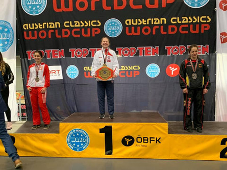 Charlotte Berg Andersen er vinner av Austrian Classics World Cup