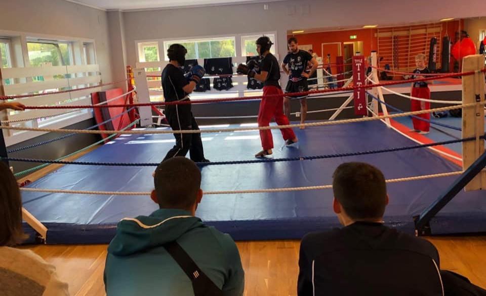 Kickboxing treningskamper i Champions Kickboxingklubb