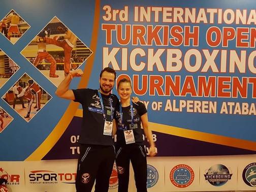 Nickolaj og Charlotte til Turkish Open