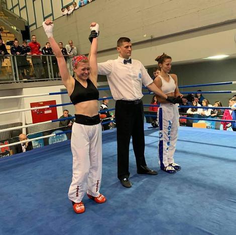 Charlotte Berg Andersen vinner kvartfinalen