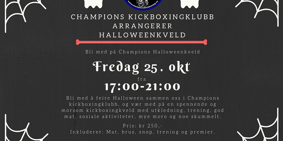 Halloween i Champions 2018