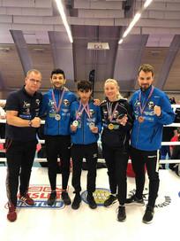 Champions til Scandinavian Open i Oslo