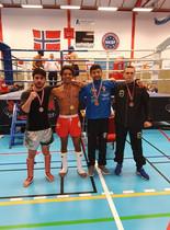 Pallen til Norgesmesterskap 2019 i k-1 -67 kg