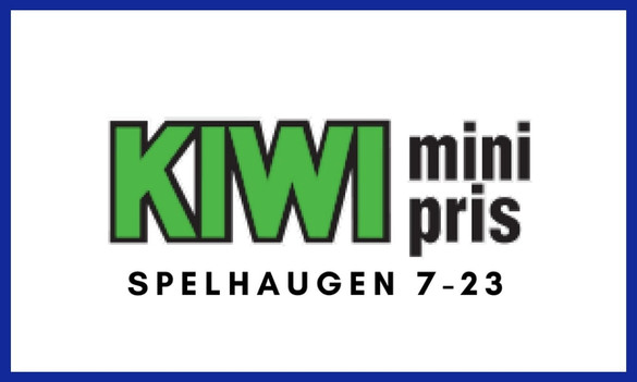 Kiwi mini pris Spelhaugen