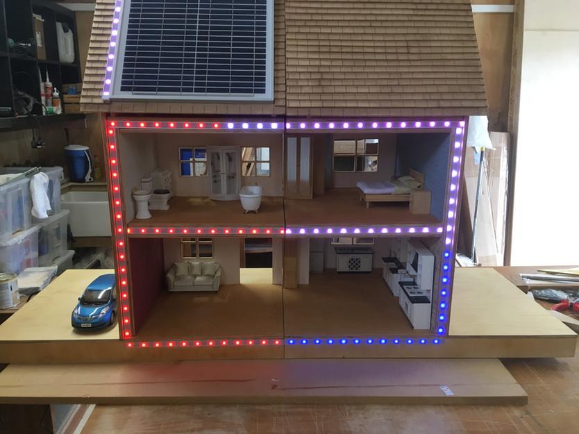 Model Eco house