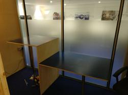 Custom meeting desk