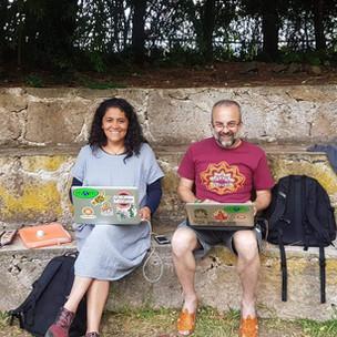 Ana Karla Enriquez y Jaime Carral - La Semilla Colectivo