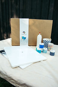 Acrylic pour kit Squamish wind festival