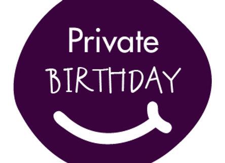 Private Birthday Deposit