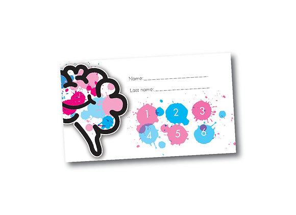 Baby Punch Card